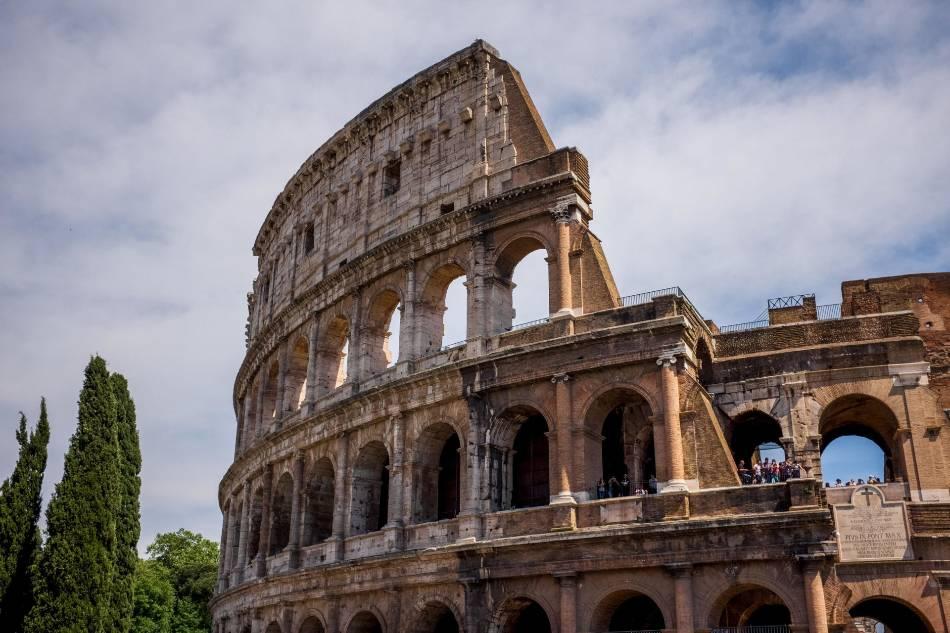 Rome Coliseum.