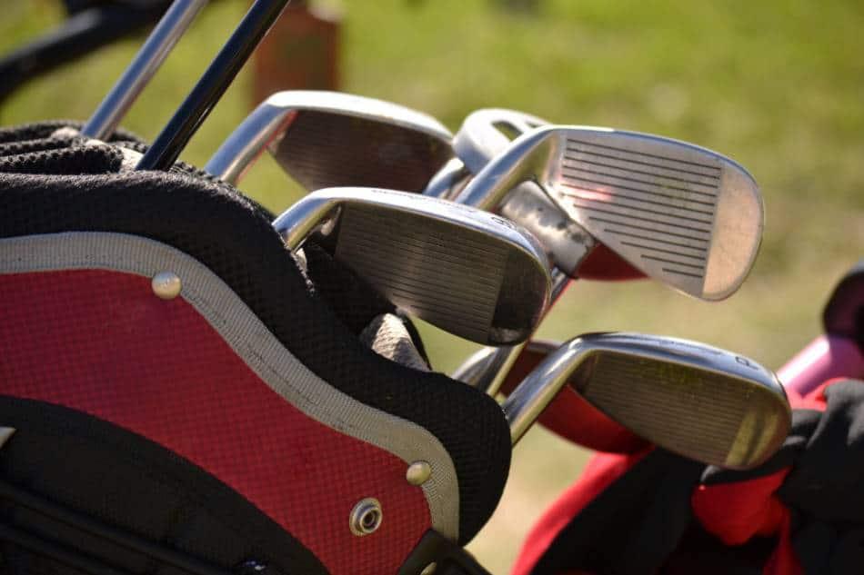 A set of irons.